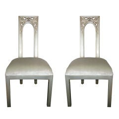 Pair of James Mont Chairs
