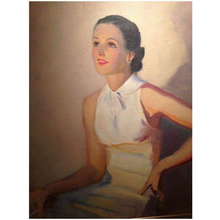 Laurence Wilbur Portrait Painting