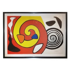 Alexander Calder Large Litho.Signed and Numbered