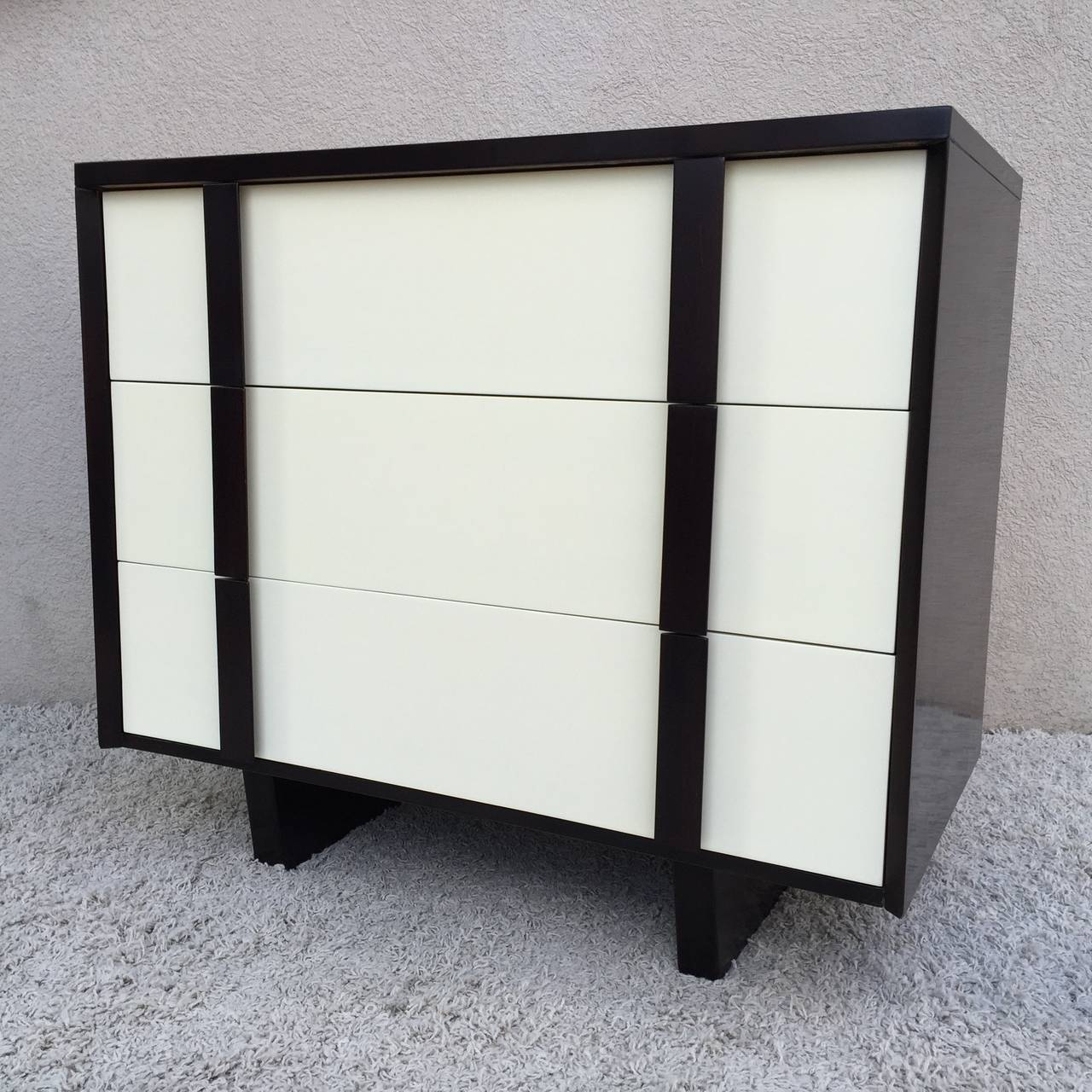 American Pair of Paul Laszlo Chests For Sale