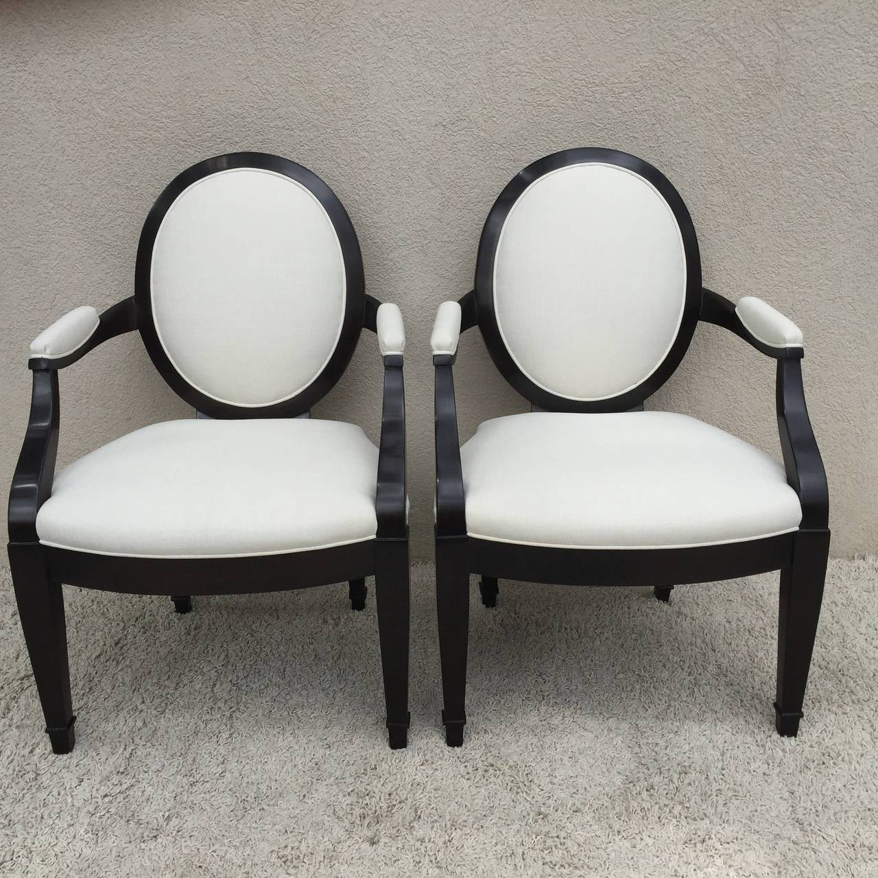 john hutton for donghia set of six chairs for sale at 1stdibs rh 1stdibs com donghia lounge chairs donghia lounge chairs
