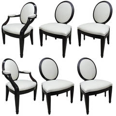 John Hutton for Donghia Set of Six Chairs