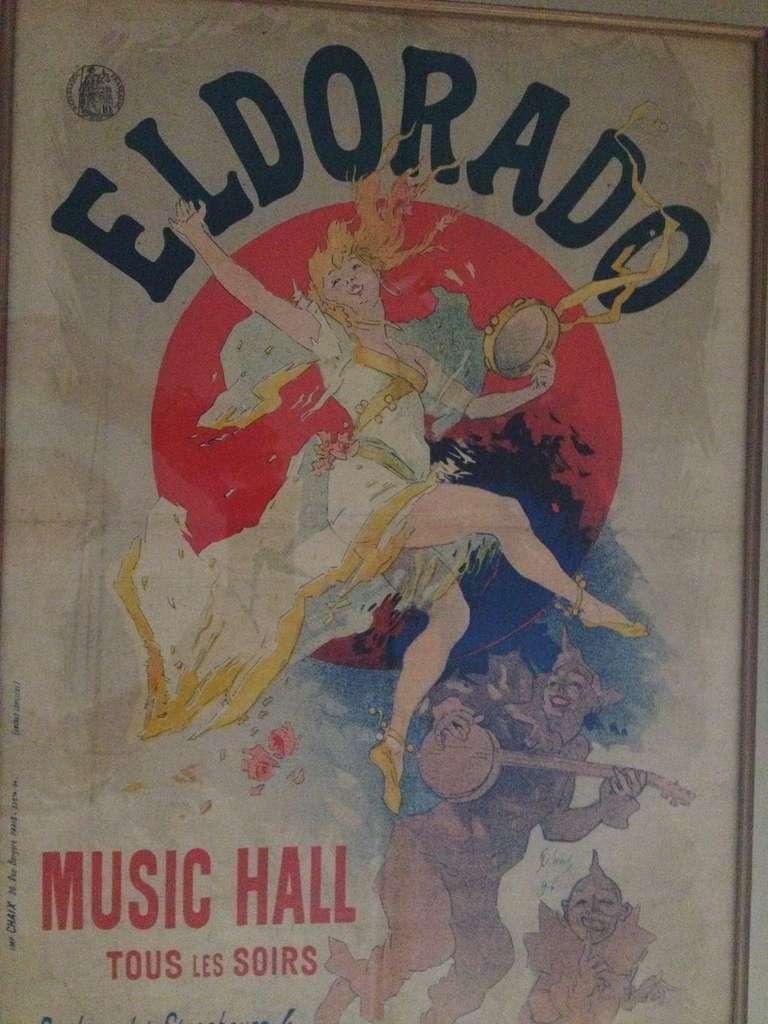 Jules Cheret Eldorado Art Nouveau Original Poster For Sale 3
