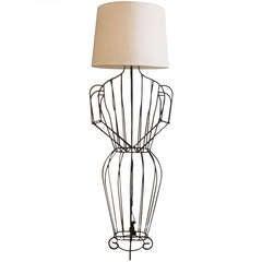 John Risley Figural Standing Lamp