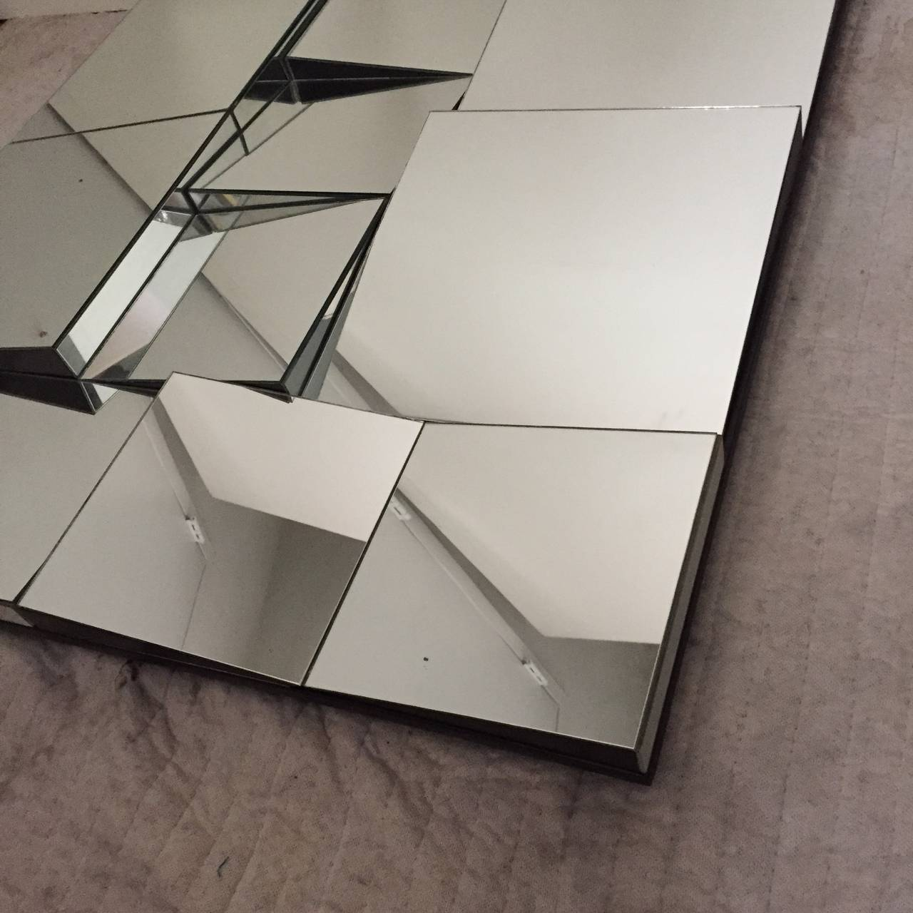 Neal Small Slopes Mirror At 1stdibs