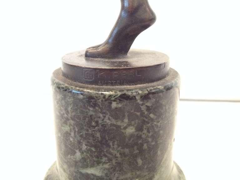 K. Perl Austrian Deco Bronze For Sale 3