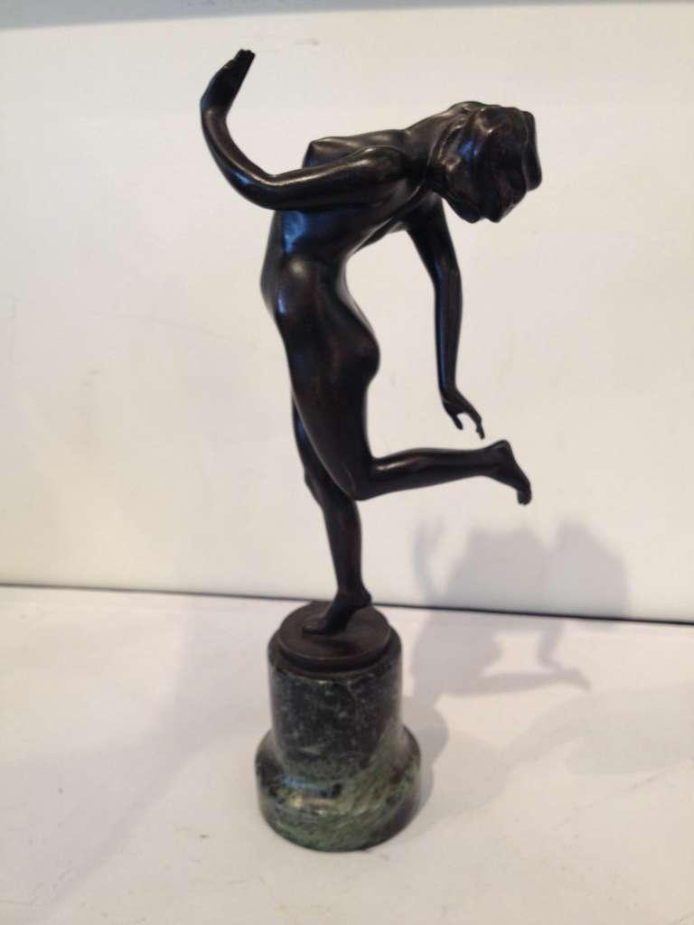 Mid-20th Century K. Perl Austrian Deco Bronze For Sale
