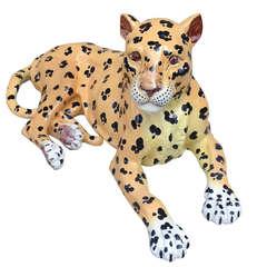Meiselman Italian Extra Large Ceramic Leopard