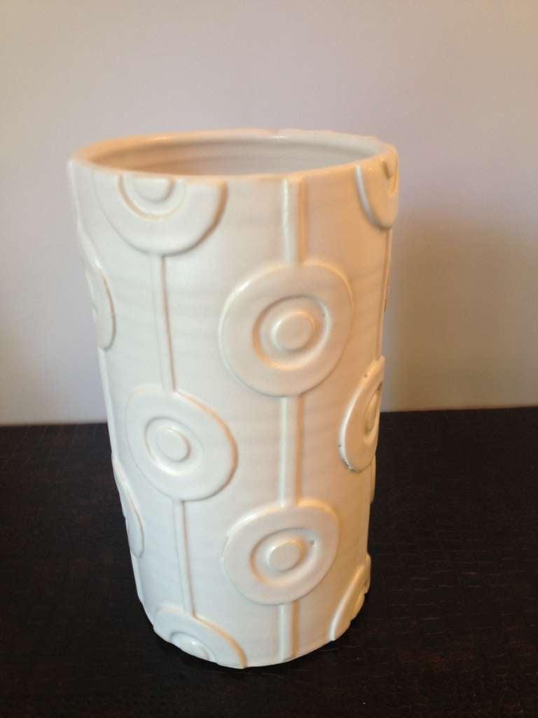 jonathan adler couture ceramic vase for sale at 1stdibs. Black Bedroom Furniture Sets. Home Design Ideas