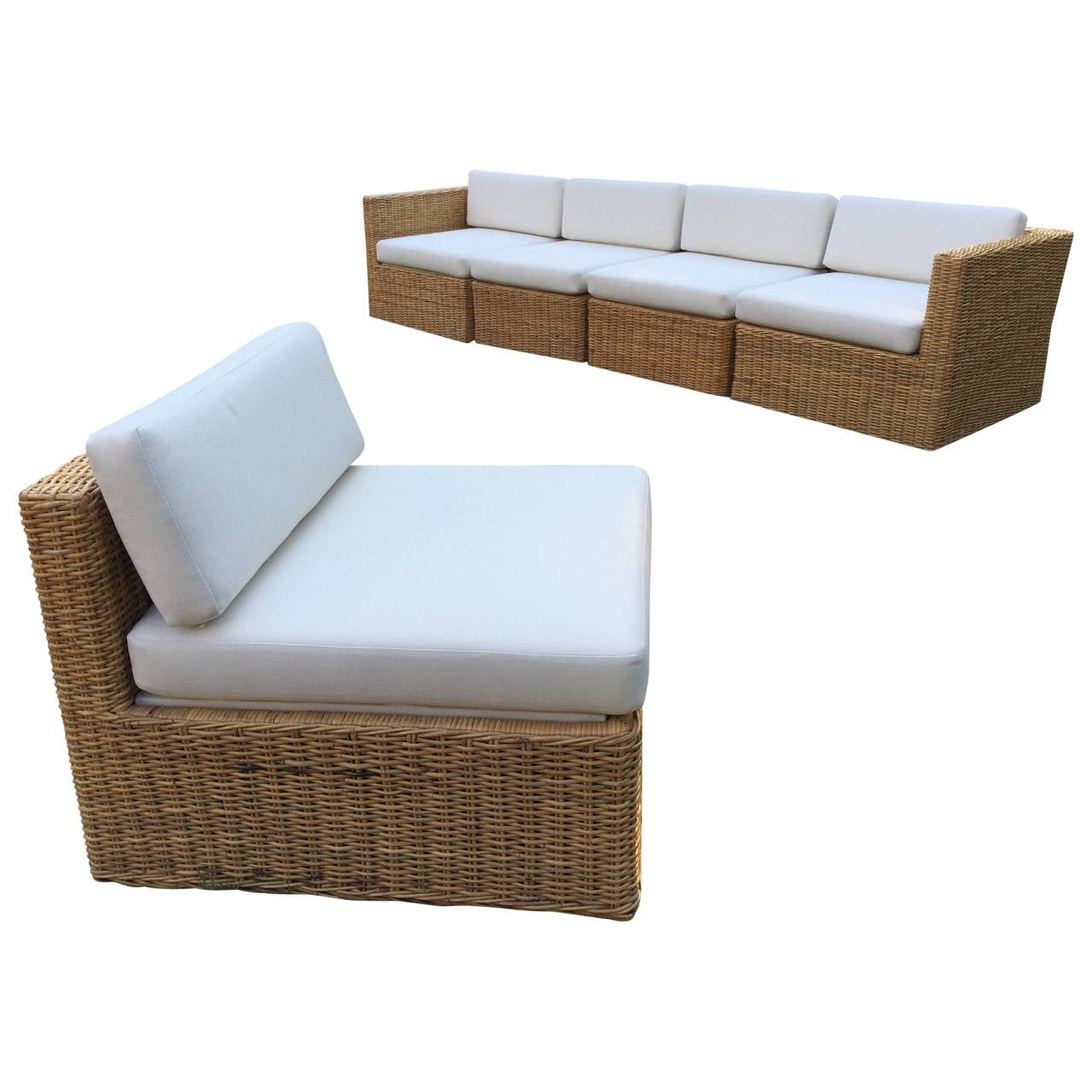 wicker rattan sectional sofas sofa menzilperde net. Black Bedroom Furniture Sets. Home Design Ideas