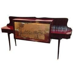 Osvaldo Borsani Italian Sideboard /Display Cabinet, circa 1950