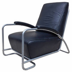 Gilbert Rhode Leather Club Chair