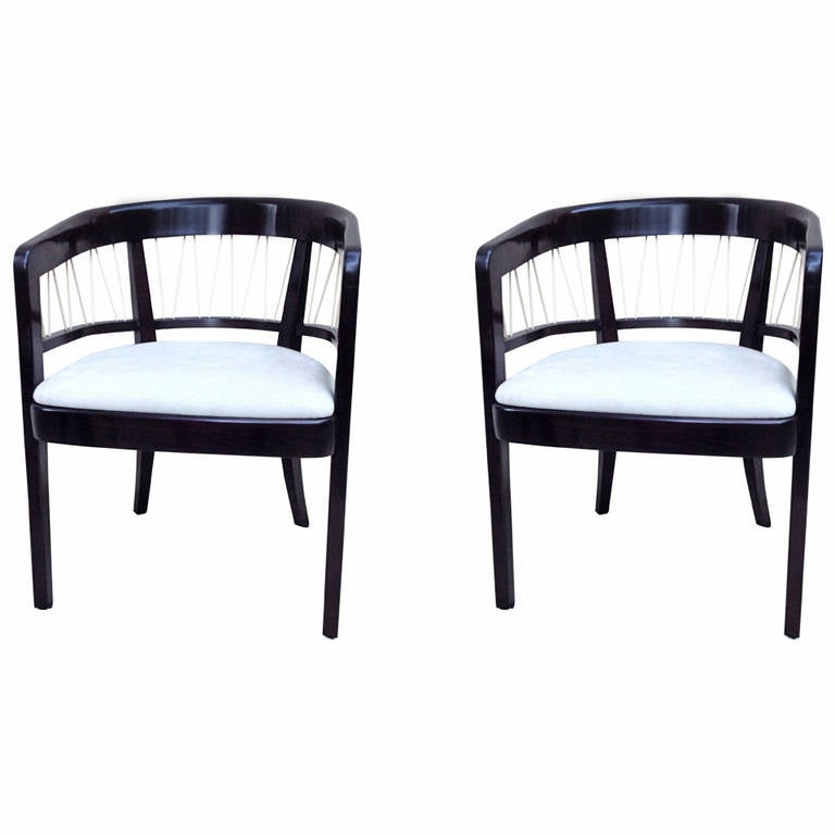Pair of Edward Wormley Chairs