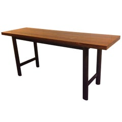 Harvey Probber Flip-Top Console or Dining Table