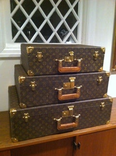 Louse Vuitton Stacking Luggage from Estate of Bert Parks  image 2