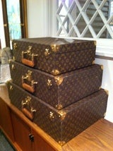 Louse Vuitton Stacking Luggage from Estate of Bert Parks  image 5