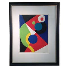 Sonia Delaunay artist proof Lithograph