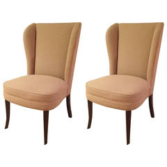 Pair of Tommi Parzinger Style Chairs