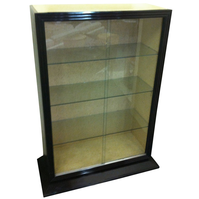 28 small glass cabinets for sale vintage wood and curved gl