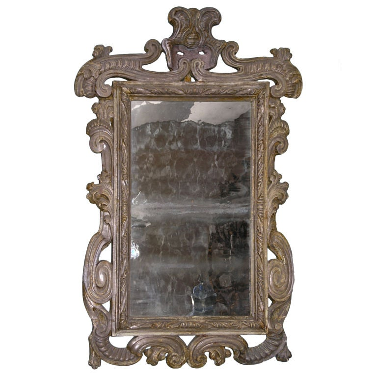 17th Century Baroque Mirror At 1stdibs