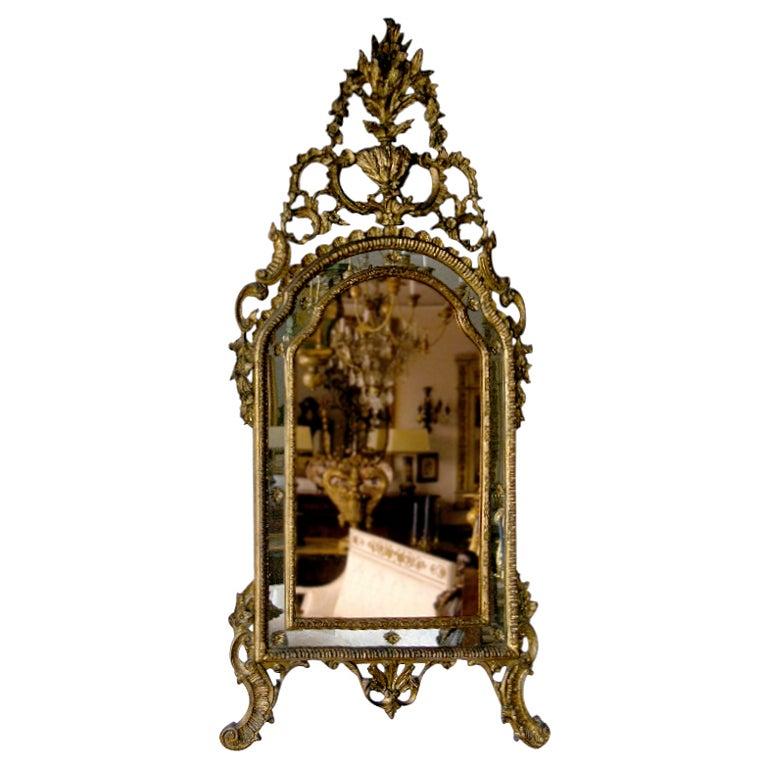 Rococo Giltwood Mirror