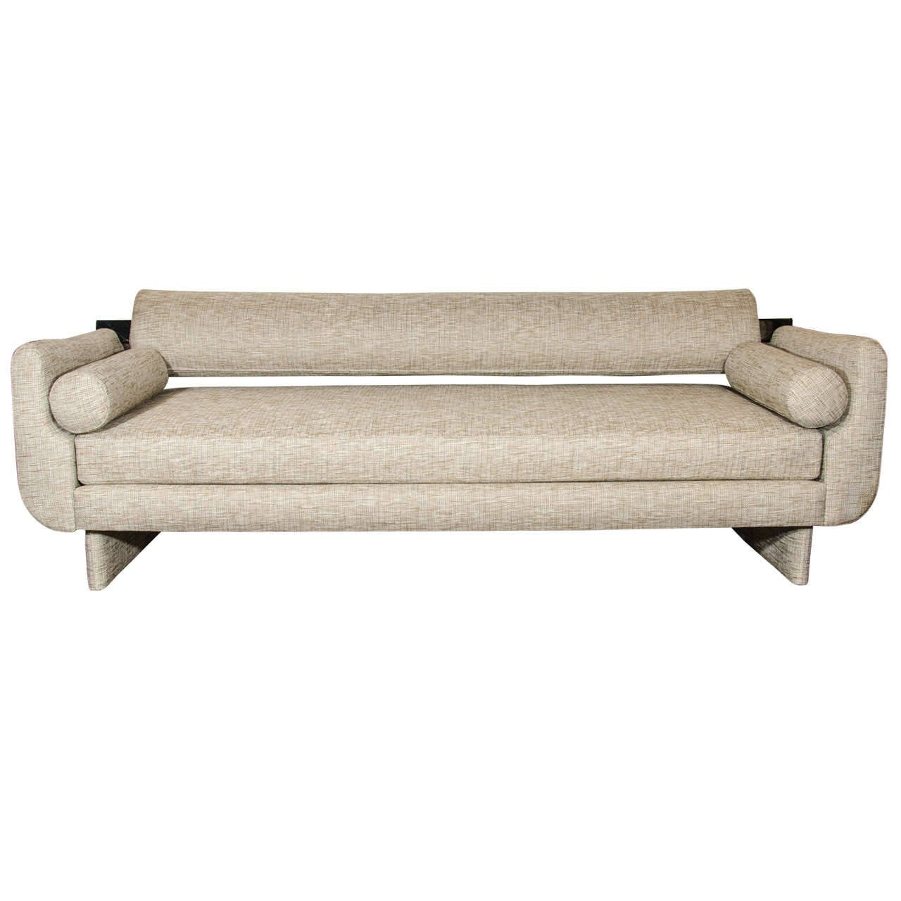 Ultra Modern Sofa Daybed With Streamline Design At 1stdibs