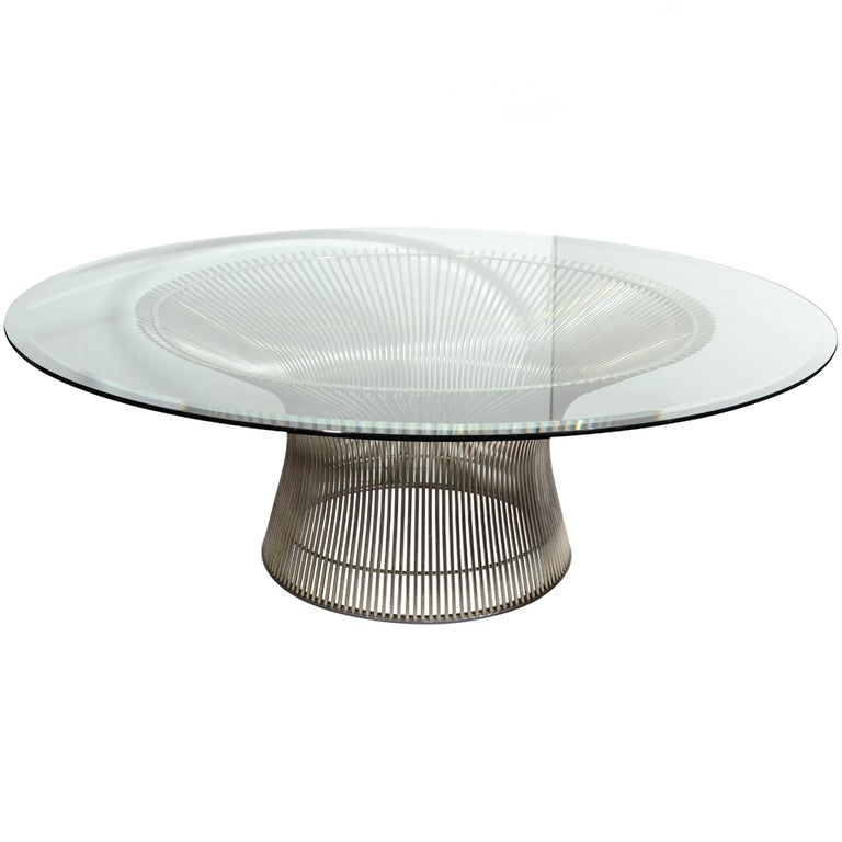Modernist Cocktail Table Designed By Warren Platner For Knoll At 1stdibs