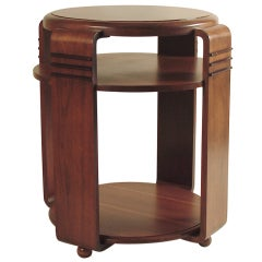 American Art Deco Modernist/Art Deco Table