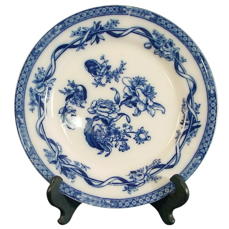 Dinnerware Art Nouveau Flow Blue China Johnson Brothers