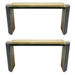 Maison Jansen Console Tables