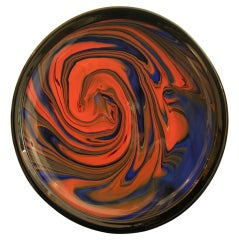 Fashion on a Plate, Limited Edition, Object d'Art in Glass by Ottavio Missoni