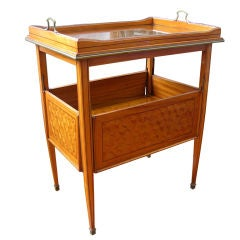 Exceptional French Art Deco Lemonwood Cocktail Table