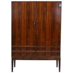 Stunning Danish Mid-Century Modern Rosewood Cabinet