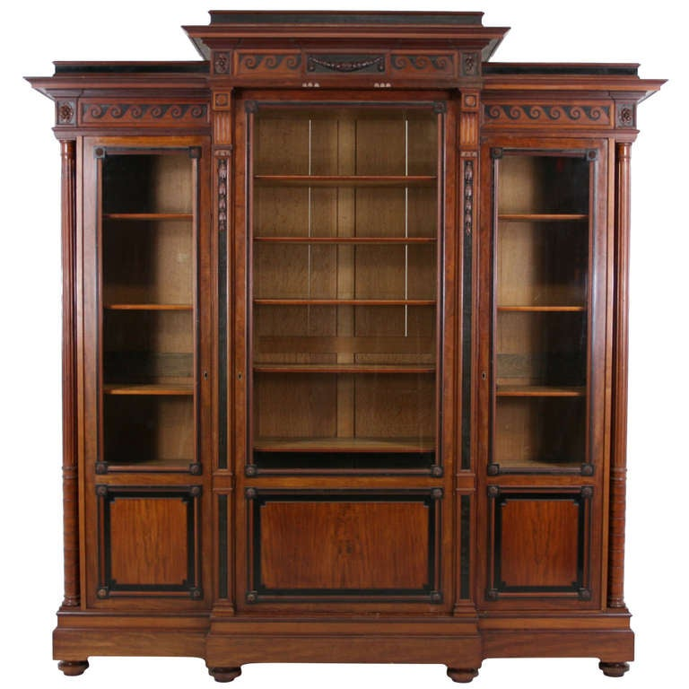 big bookcases for sale large scale rosewood bookcase. Black Bedroom Furniture Sets. Home Design Ideas