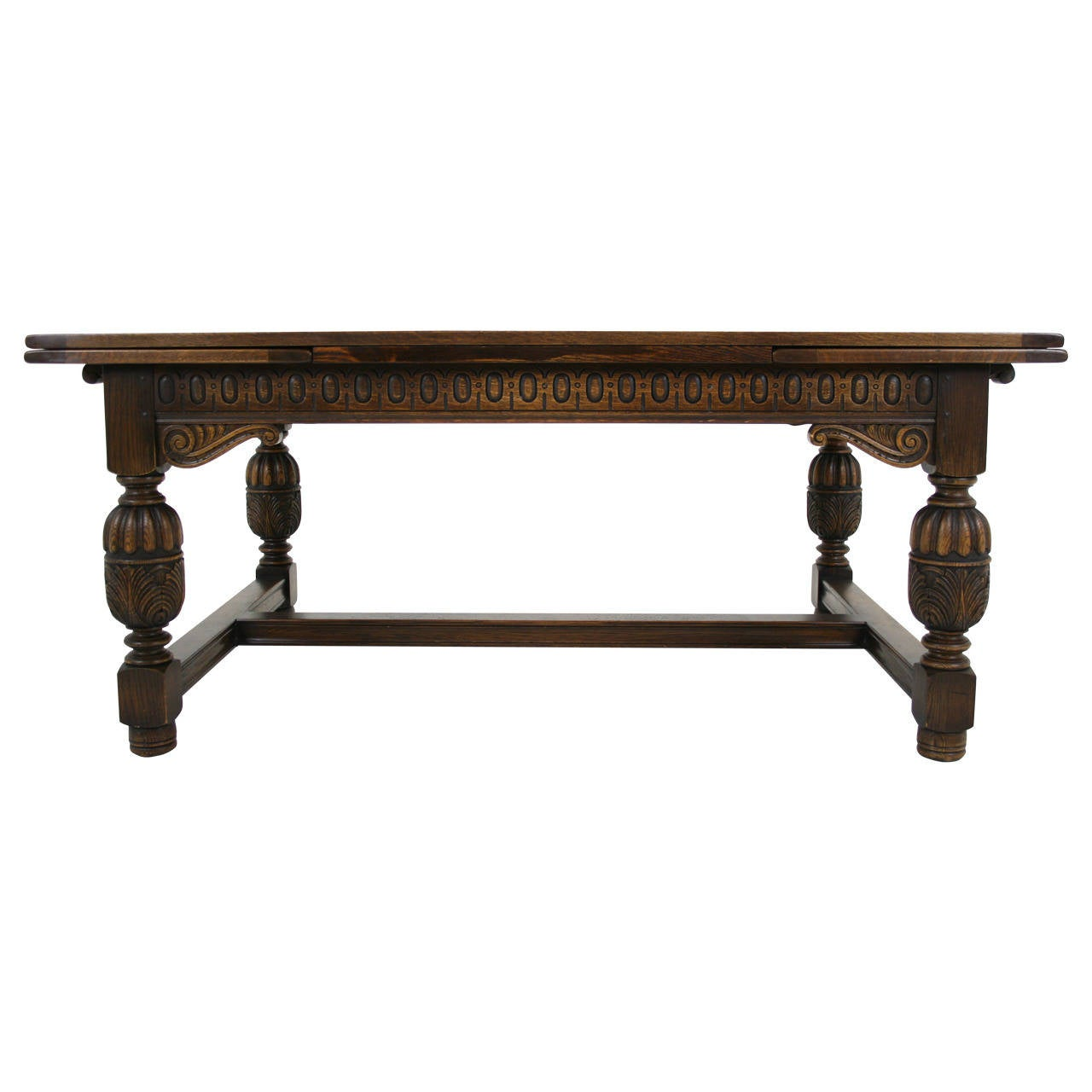 Large Antique Carved Oak Refectory Dining Conference  : 1887182l from www.1stdibs.com size 1280 x 1280 jpeg 70kB