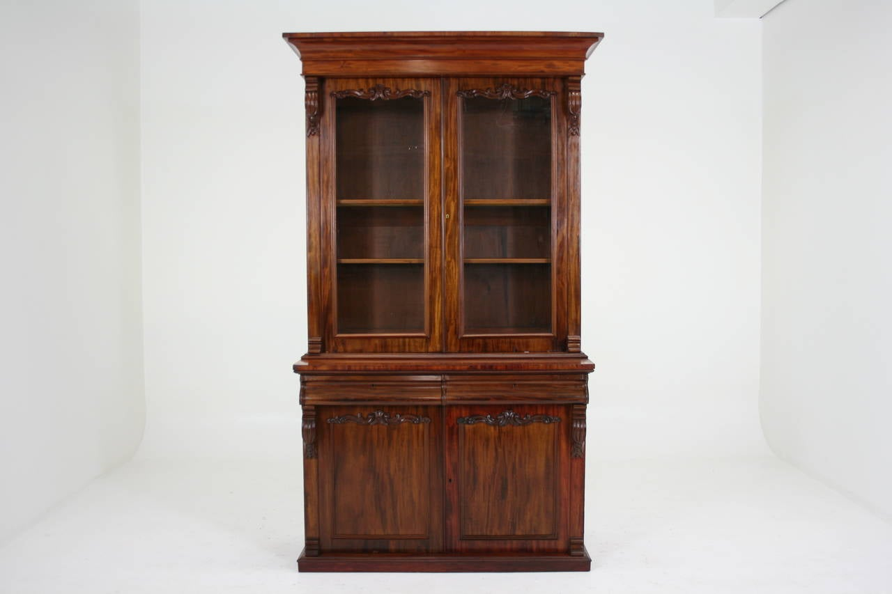 #693720 Antique Scottish Victorian Mahogany Four Door Bookcase Or  with 1280x853 px of Recommended Mahogany Display Cabinets With Glass Doors 8531280 save image @ avoidforclosure.info