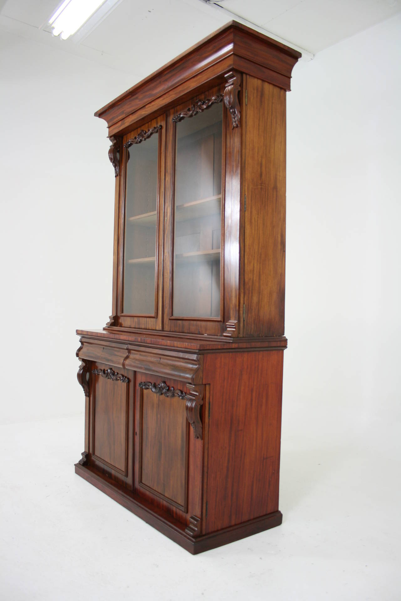 #714130 Antique Scottish Victorian Mahogany Four Door Bookcase Or  with 1280x1920 px of Recommended Mahogany Display Cabinets With Glass Doors 19201280 save image @ avoidforclosure.info