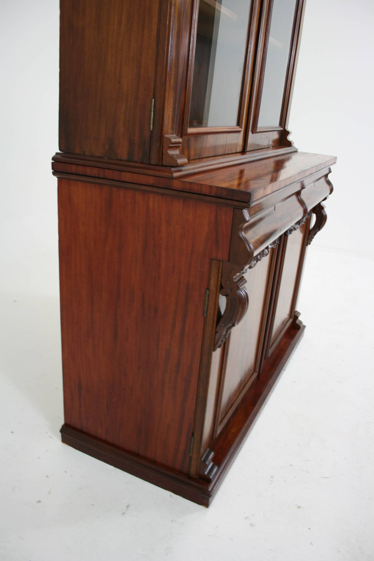 #653222 Antique Scottish Victorian Mahogany Four Door Bookcase Or  with 1280x1920 px of Recommended Mahogany Display Cabinets With Glass Doors 19201280 save image @ avoidforclosure.info