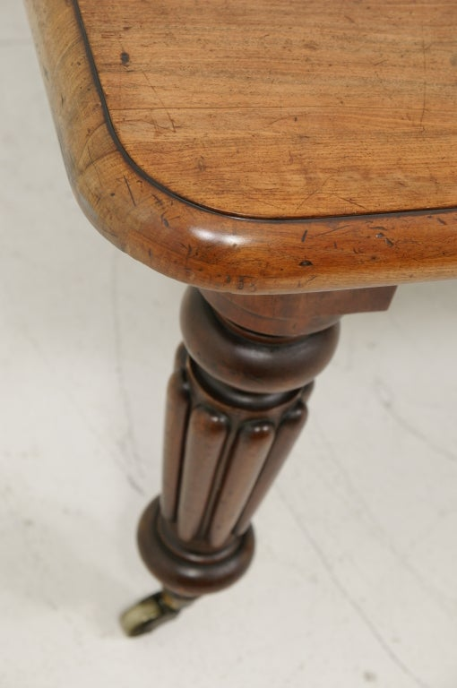 Victorian Mahogany Dining Table and Two (2) Leaves 2