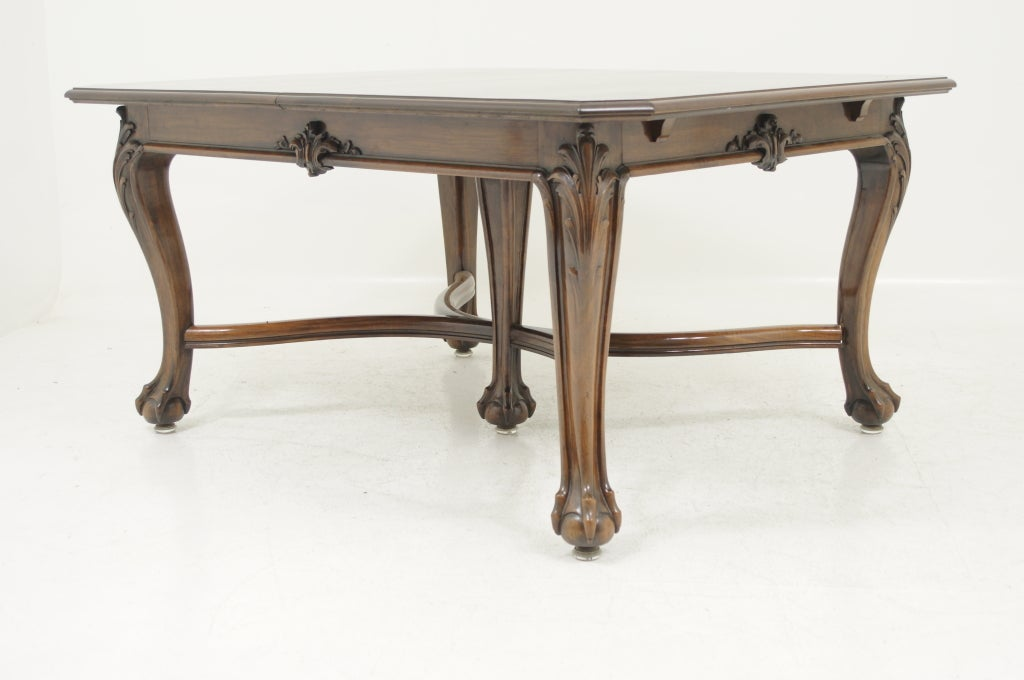 Georgian style rectangular dining table at 1stdibs for 108 inch dining room table