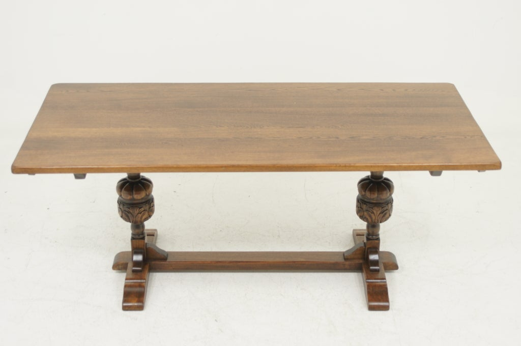Solid Oak Harvest Table at 1stdibs : 911313368642242 from 1stdibs.com size 1024 x 680 jpeg 49kB