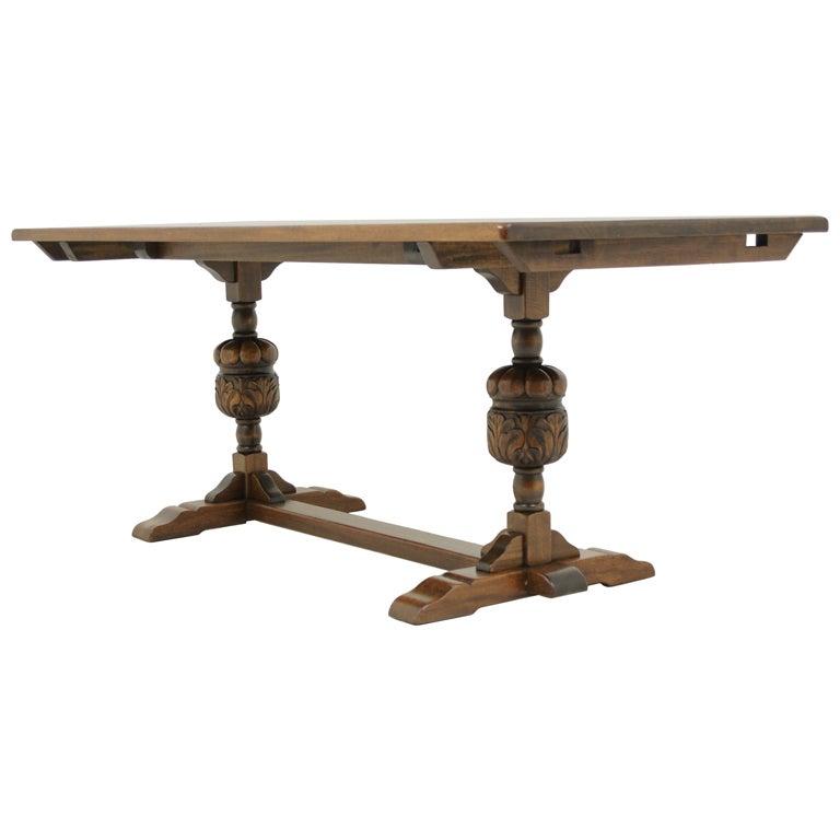 Solid Oak Harvest Table at 1stdibs : XXX911313368642241 from www.1stdibs.com size 768 x 768 jpeg 26kB
