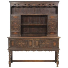 17th Century Style Oak Welsh Dresser
