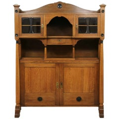 Danish Arts & Crafts Oak Sideboard