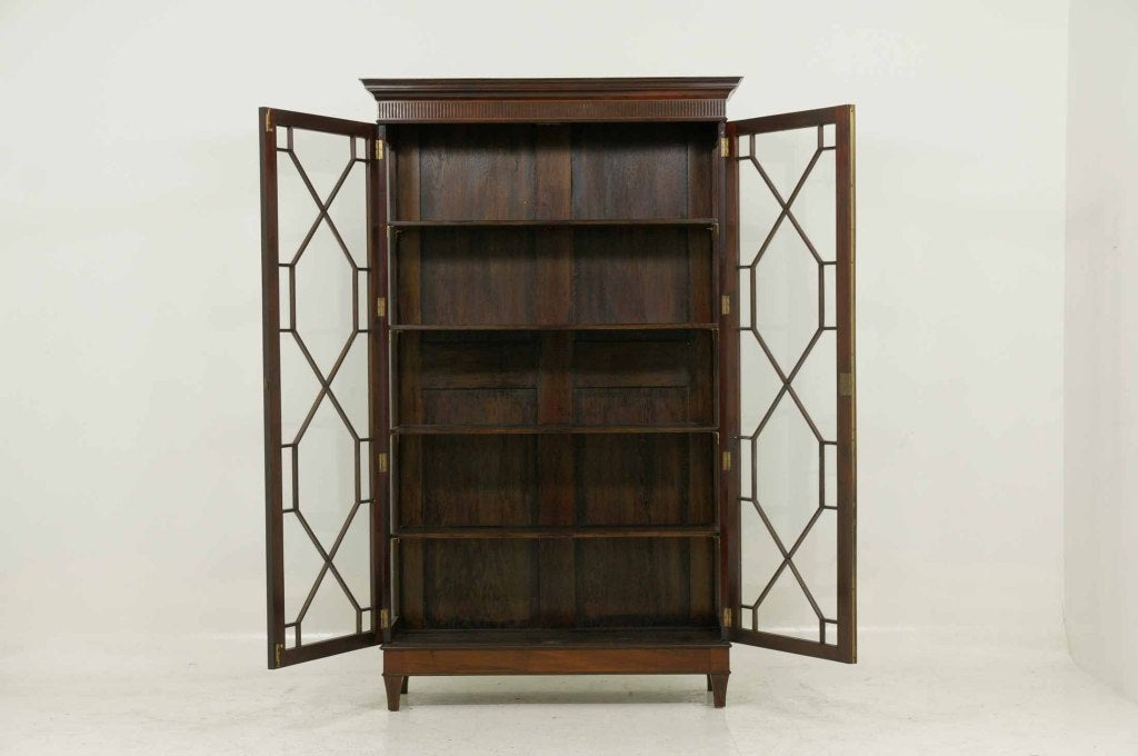 Georgian Style Mahogany Display Cabinet At 1stdibs