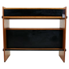 Danish Mid-Century Modern Freestanding Teak Bar Cabinet