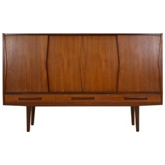 Danish Mid-Century Modern Teak Sideboard or Cabinet