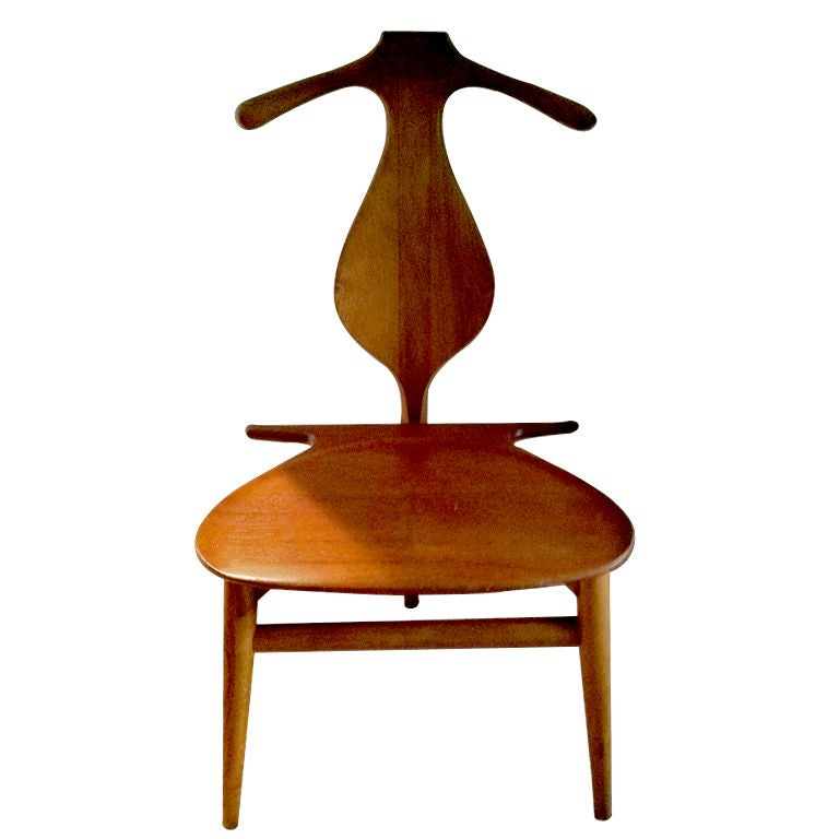 Hans Wegner Valet Chair At 1stdibs