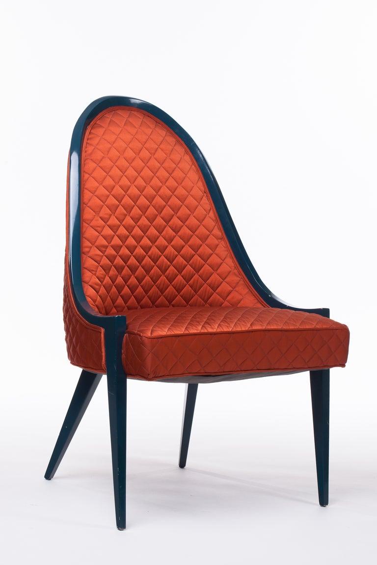 Harvey Probber Gondola Chair At 1stdibs
