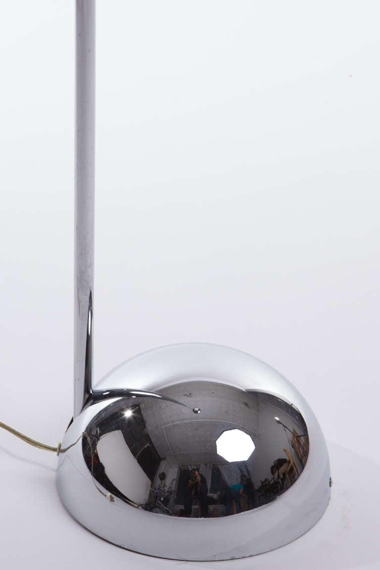 Robert sonneman chrome half sphere floor lamps at 1stdibs for Sphere 5 light floor lamp